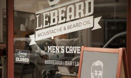 Le Beard, uma barbearia para cavalheiros, no Porto