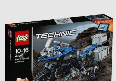 Lego traz versão R 1200 GS da BMW