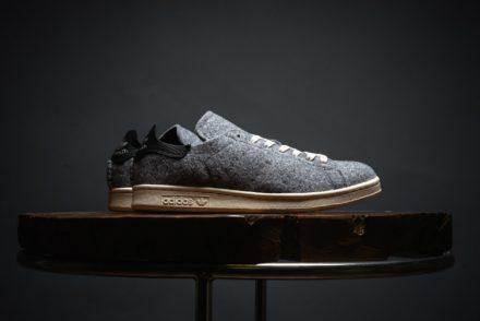 Adidas agora com Stan Smith em feltro de lã