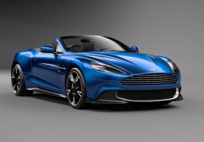 Pronto para o calor: Aston Martin tira a capota do Vanquish S