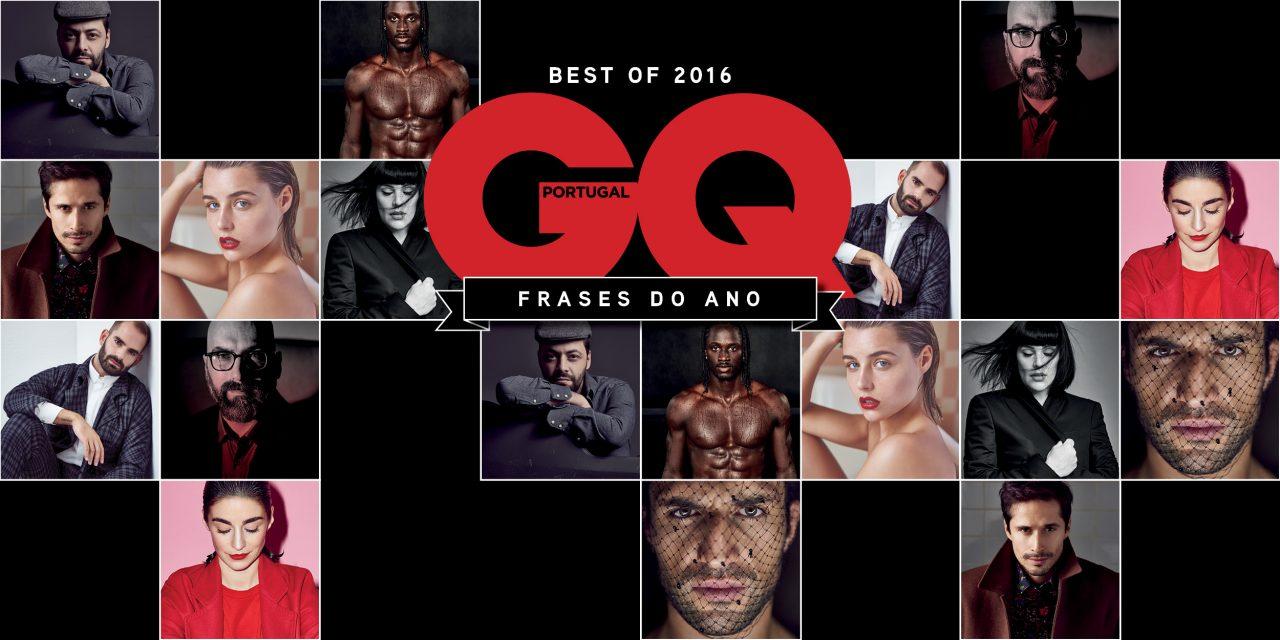 O ano em palavras: o que de melhor disseram à GQ Portugal em 2016