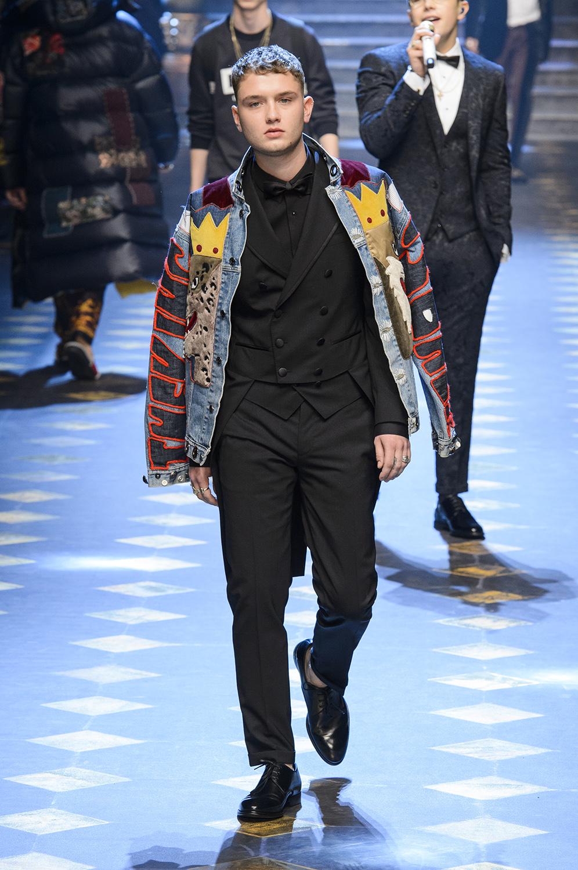 a081e787da1ec Dolce   Gabbana FW17    Milano Moda Uomo - GQ Portugal
