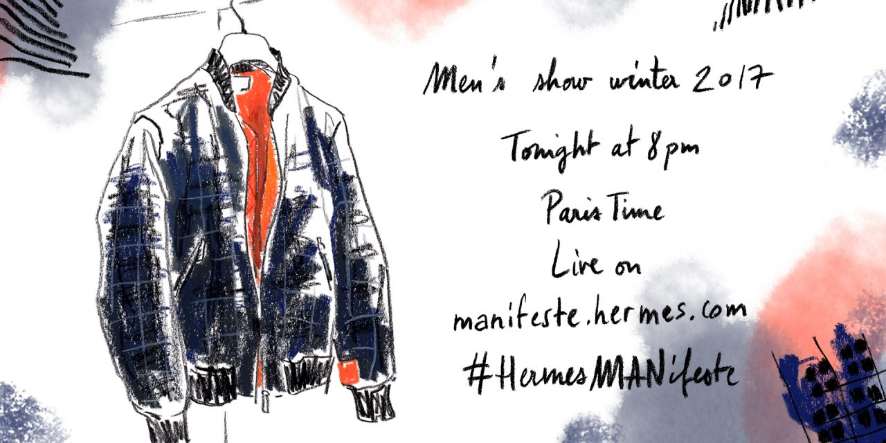 Livestream: Hermès FW17 // Paris Men's Fashion Week