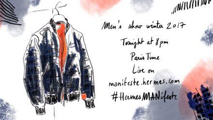 Livestream: Hermès FW17 // Paris Men's Fashion Week