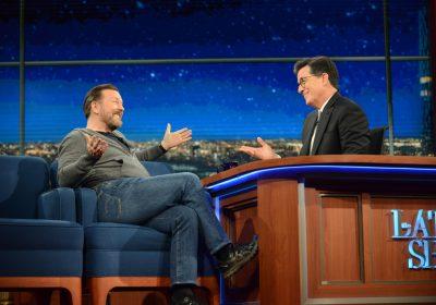 Ciência e ateísmo com Ricky Gervais no Late Show