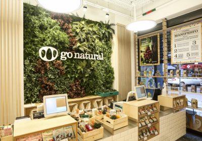 Foi inaugurado o primeiro supermercado da Go Natural