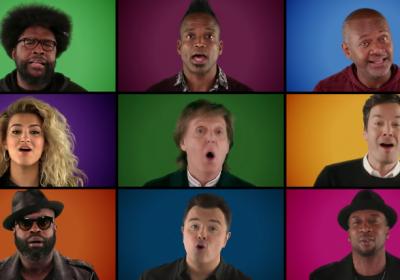 Jimmy Fallon traz mais uma cover de Natal que vale a pena ouvir