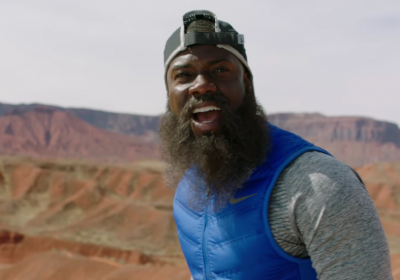 Kevin Hart correu durante 99 dias para os novos anúncios da Nike