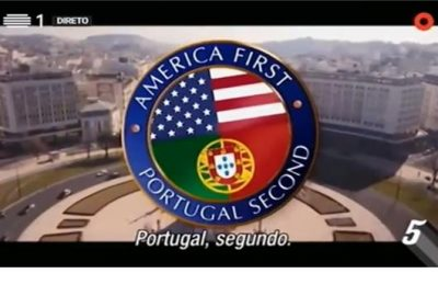 Agora é a nossa vez: a mensagem de Portugal para o presidente norte-americano