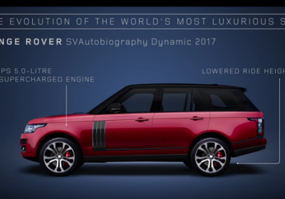 Uma viagem pela história do Range Rover em menos de 90 segundos