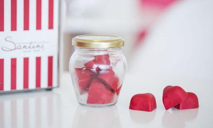 Santini: há bombons de gelado de framboesa para o S. Valentim