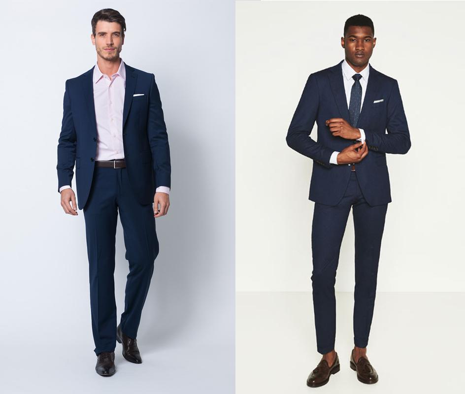 Da esquerda para a direita: Zara, Massimo Dutti