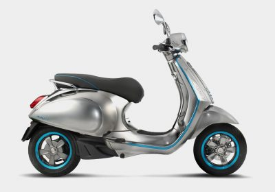 Vespa apresenta o seu primeiro modelo elétrico