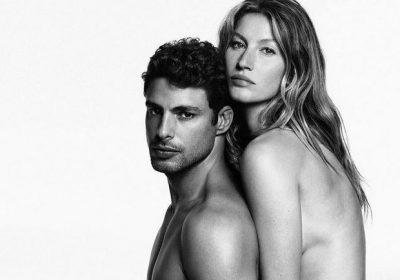 Gisele Bündchen e Cauã Reymond para a Givenchy