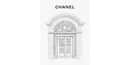 Chanel instalada no Le Marais