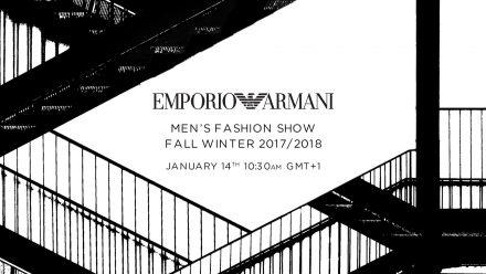 Emporio Armani: FW17 em direto da semana de moda masculina de Milão