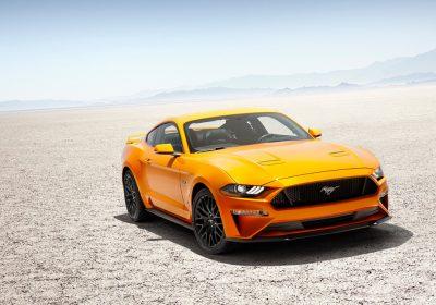 A Ford redesenha o Mustang para 2018