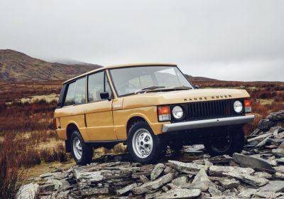 A Land Rover traz de volta o Range Rover original