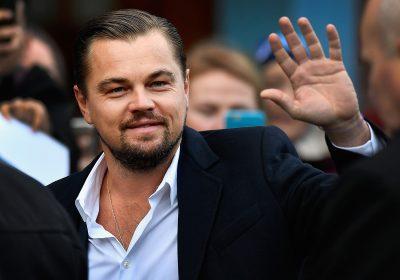 Leonardo DiCaprio ajuda em almoço de apoio a sem-abrigo