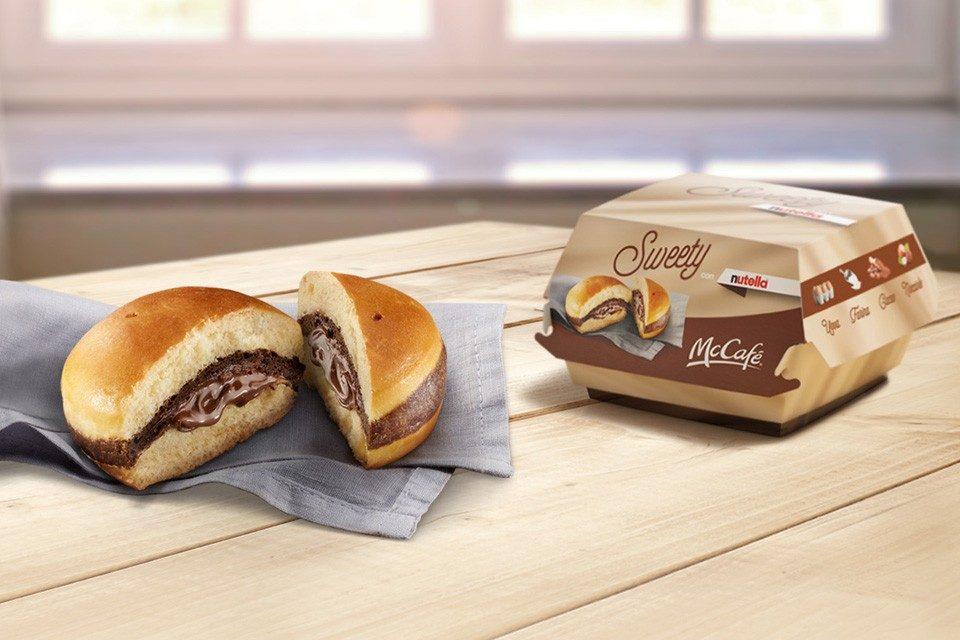 McDonald's com hamburger de nutella: está preparado para isto?
