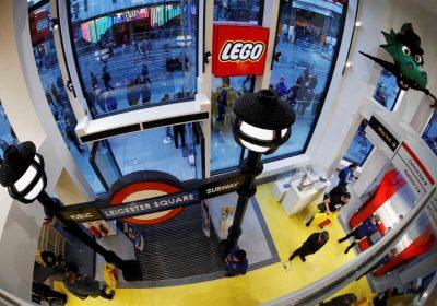 Londres recebe a maior loja Lego do mundo