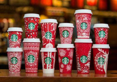 Starbucks: Copos personalizados por clientes regressam para o natal
