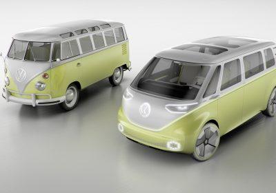 """Volkswagen apresenta """"pão-de-forma"""" elétrica em Detroit"""